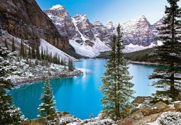 The Jewel of the Rockies,Canada,1000Puzz · CAS 1023722 ·  Castorland