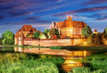 Malbork Castle, Poland,Puzzle 1000 Teile · CAS 1030102 ·  Castorland