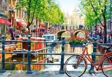 Amsterdam Landscape,Puzzle 1000 Teile · CAS 1031332 ·  Castorland