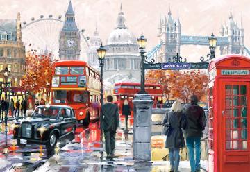 London Collage,Puzzle 1000 Teile · CAS 1031402 ·  Castorland