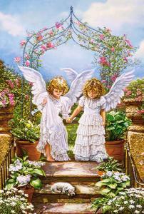Angelic Friends, Puzzle 1000 Teile · CAS 1032252 ·  Castorland