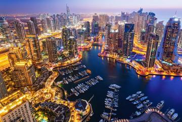Dubai at Night - Puzzle - 1000 Teile · CAS 1032562 ·  Castorland