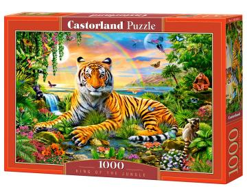 King of the Jungle, Puzzle, 1000 Teile · CAS 1033002 ·  Castorland