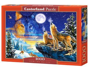 Howling Wolves - Puzzle - 1000 Teile · CAS 1033172 ·  Castorland