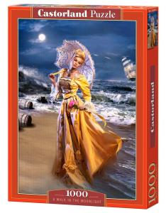 A Walk in the Moonlight, Puzzle 1000 Tei · CAS 1033242 ·  Castorland