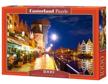 Gdansk Waterfront at Night, Puzzle, 1000 Teile · CAS 1033792 ·  Castorland
