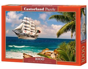 Sailing in the Tropics - Puzzle - 1000 Teile · CAS 1034302 ·  Castorland