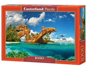 Dolphin Paradise - Puzzle - 1000 Teile · CAS 1035082 ·  Castorland