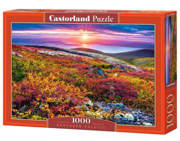 Northern Palette - Puzzle - 1000 Teile · CAS 1035392 ·  Castorland