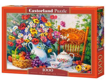 Time for Tea - Puzzle - 1000 Teile · CAS 1038362 ·  Castorland