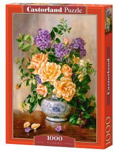 Floral - Puzzle - 1000 Teile · CAS 1039282 ·  Castorland