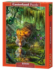 Tiger in the Jungle - Puzzle - 1000 Teile · CAS 1039352 ·  Castorland