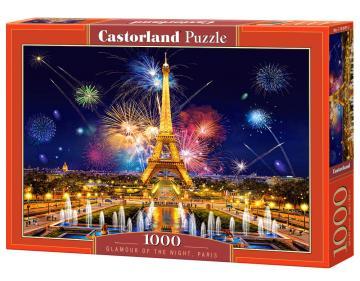 Glamour of the Night,Paris - Puzzle - 1000 Teile · CAS 1039972 ·  Castorland