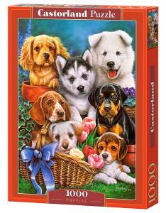 Puppies - Puzzle - 1000 Teile · CAS 1040482 ·  Castorland