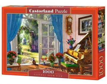 Doorway Room View - Puzzle - 1000 Teile · CAS 1040792 ·  Castorland