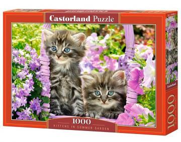 Kittens in summer garden - Puzzle - 1000 Teile · CAS 1040862 ·  Castorland