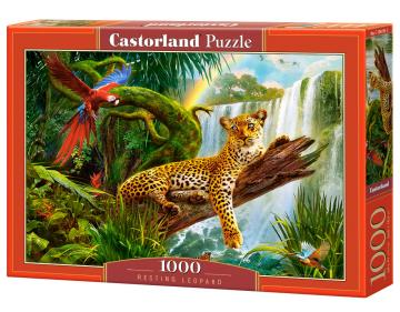 Resting Leopard - Puzzle - 1000 Teile · CAS 1040932 ·  Castorland