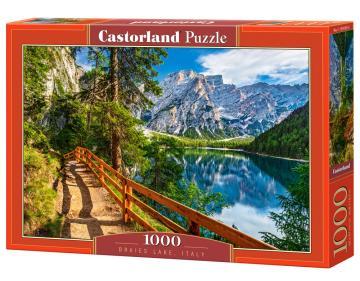 Braies Lake, Italy - Puzzle - 1000 Teile · CAS 1041092 ·  Castorland