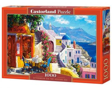 Afternoon on the Aegean Sea - Puzzle - 1000 Teile · CAS 1041302 ·  Castorland