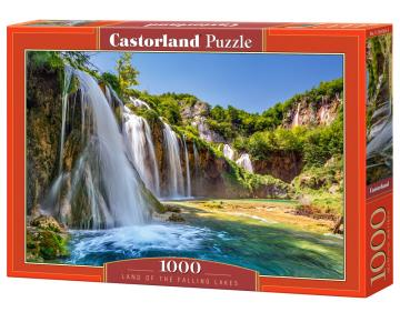 Land of the Falling Lakes - Puzzle - 1000 Teile · CAS 1041852 ·  Castorland