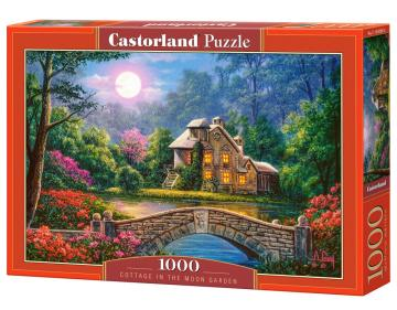 Cottage in the Moon Garden - Puzzle - 1000 Teile · CAS 1042082 ·  Castorland