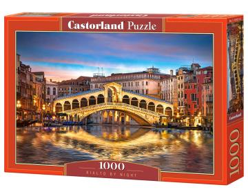 Rialto by Night - Puzzle - 1000 Teile · CAS 1042152 ·  Castorland