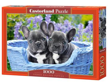 French Bulldog Puppies - Puzzle - 1000 Teile · CAS 1042462 ·  Castorland