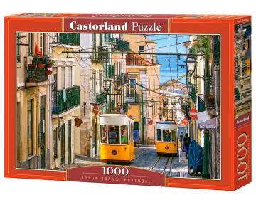 Lisbon Trams,Portugal - Puzzle - 1000 Teile · CAS 1042602 ·  Castorland