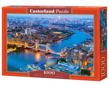 Aerial View of London - Puzzle - 1000 Teile · CAS 1042912 ·  Castorland