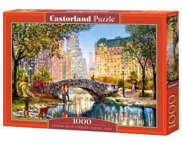 Evening Walk Through Central Park -  Puzzle - 1000 Teile · CAS 1043762 ·  Castorland