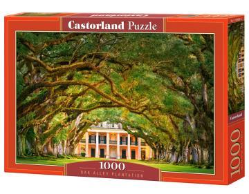 Oak Alley Plantation - Puzzle - 1000 Teile · CAS 1043832 ·  Castorland