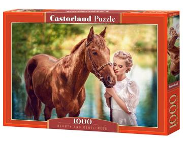 Beauty and Gentleness - Puzzle - 1000 Teile · CAS 1043902 ·  Castorland