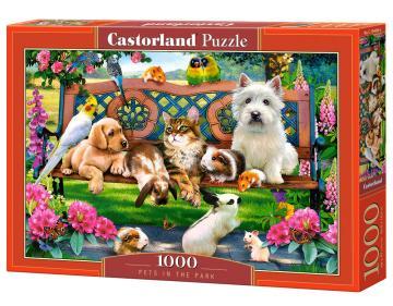 Pets in the Park - Puzzle - 1000 Teile · CAS 1044062 ·  Castorland