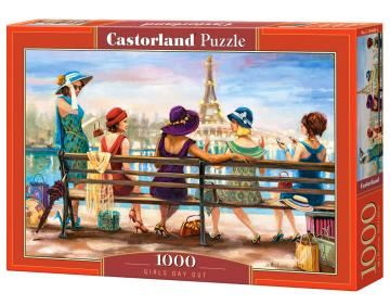 Girls Day Out - Puzzle - 1000 Teile · CAS 1044682 ·  Castorland
