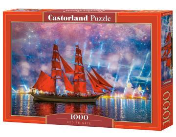 Red Frigate - Puzzle - 1000 Teile · CAS 1044822 ·  Castorland