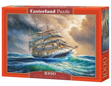 Sailing Against All Odds - Puzzle - 1000 Teile · CAS 1045292 ·  Castorland