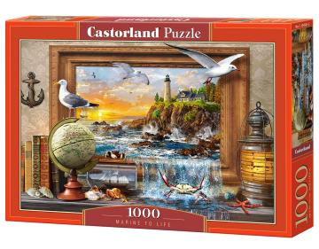 Marine to Life - Puzzle - 1000 Teile · CAS 1045812 ·  Castorland