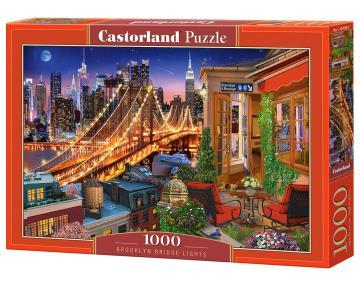 Brooklyn Bridge Lights - Puzzle - 1000 Teile · CAS 1045982 ·  Castorland