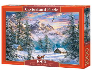 Mountain Christmas - Puzzle - 1000 Teile · CAS 1046802 ·  Castorland