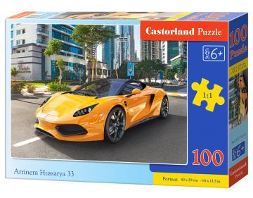 Arrinera Hussarya 33 - Puzzle - 100 Teile · CAS 111015 ·  Castorland