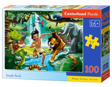 Jungle Book - Puzzle - 100 Teile · CAS 111022 ·  Castorland