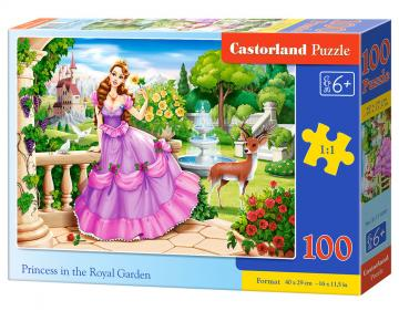 Princess in the Royal Garden - Puzzle - 100 Teile · CAS 111091 ·  Castorland