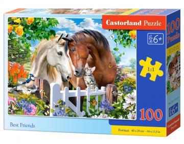 Best Friends - Puzzle - 100 Teile · CAS 111121 ·  Castorland