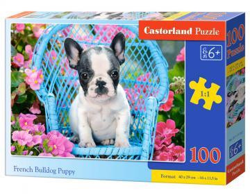 French Bulldog Puppy - Puzzle - 100 Teile · CAS 111152 ·  Castorland