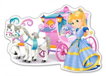 Princess Carriage,Puzzle 12 Teile maxi · CAS 120017 ·  Castorland