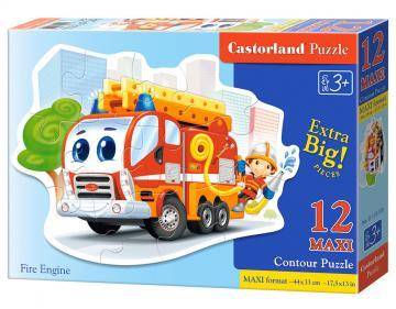 Fire Engine, Puzzle 12 Teile maxi · CAS 120109 ·  Castorland