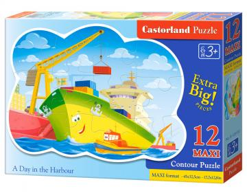 A Day in the the Harbour - Puzzle - 12 Teile maxi · CAS 120130 ·  Castorland