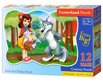 Little Red Riding Hood - Puzzle - 12 Teile maxi · CAS 120185 ·  Castorland