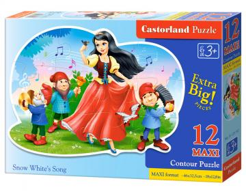 Snow White´s Song - Puzzle - 12 Teile maxi · CAS 120192 ·  Castorland