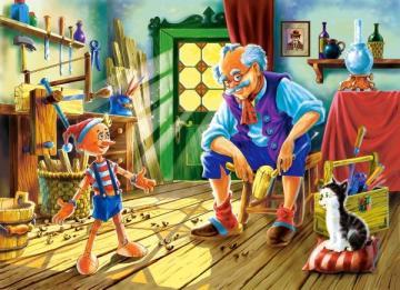 Pinocchio,Puzzle 120 Teile · CAS 12787 ·  Castorland